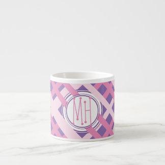 Monogram Pink Stripe