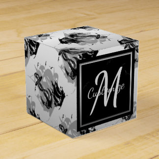 Monogram Pirate Ship & Anchor Cube Favor Box 5
