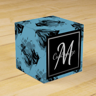 Monogram Pirate Ship & Anchor Cube Favor Box 7