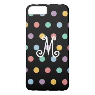 Monogram Polka Dot iphone 7 Plus Case