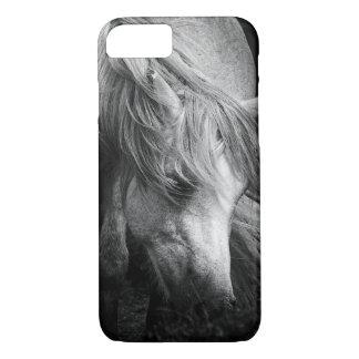 Monogram Pony Portrait - Dartmoor Pony Mare iPhone 7 Case