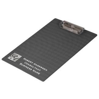 Monogram Professional Elegant Carbon Fiber Clipboa Clipboard