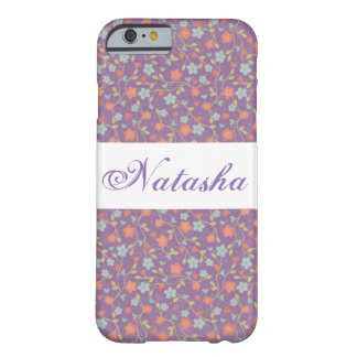 Monogram Purple Floral Cute Sweet Phone Case