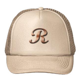 Monogram R Hat