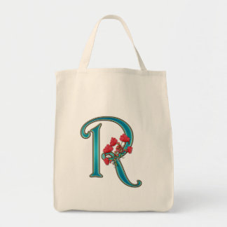 Monogram R Tote Bag