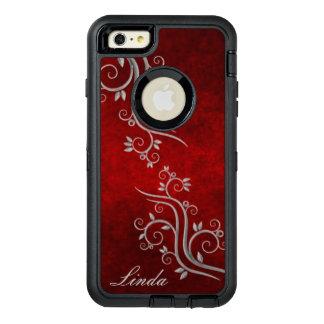 Monogram Red Floral OtterBox Case