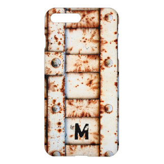 Monogram Rusty Metal iPhone 8 Plus/7 Plus Case