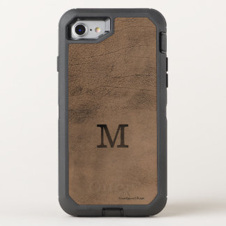 Monogram Saddle Leather Look iPhone 7 Case