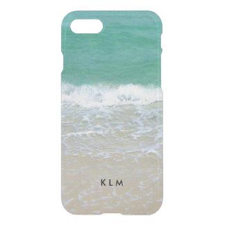 Monogram Sandy Beach Ocean iPhone 7 Case