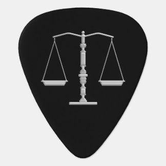 Monogram Scales of Justice Guitar Pick