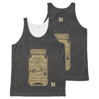 Monogram Series: Americana Moonshine. All-Over-Print Tank Top