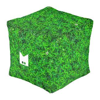 Monogram Series: Bush Block. Pouf