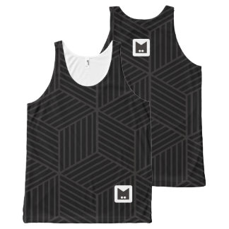 Monogram Series: Geometric Pattern. All-Over-Print Tank Top