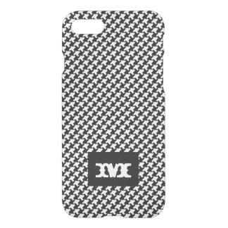 Monogram Series: Houndstooth Pattern. iPhone 7 Case