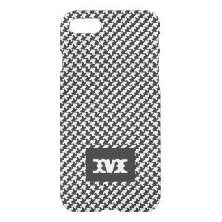 Monogram Series: Houndstooth Pattern. iPhone 8/7 Case
