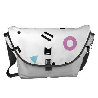 Monogram Series: Retro Eighties Courier Bags