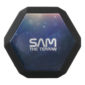 Monogram Series: You The Terran. Funny Gift. Black Bluetooth Speaker