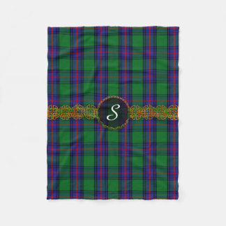 Monogram Shaw Tartan Fleece Blanket