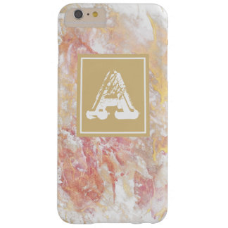 Monogram shiny abstract barely there iPhone 6 plus case