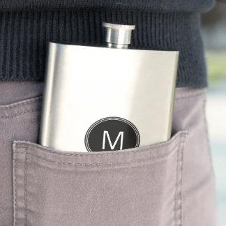 Monogram Stainless Steel Classic Flask 8 oz
