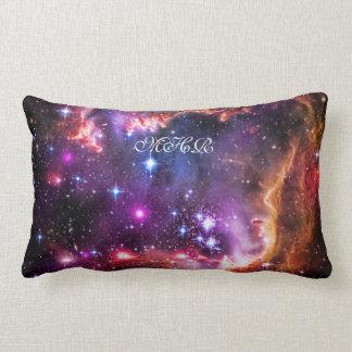 Monogram Starry Wingtip of Small Magellanic Cloud Lumbar Pillow