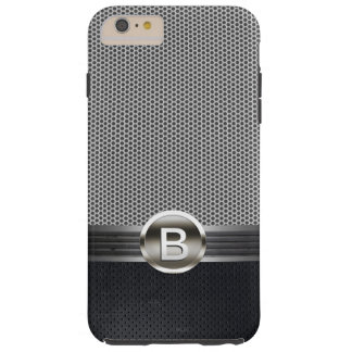 Monogram Steel Belt Metal Mesh Custom Name Tough iPhone 6 Plus Case