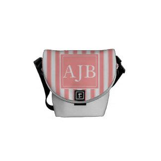 Monogram Stripes Bag Commuter Bag