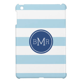 MONOGRAM STRIPES custom iPad case