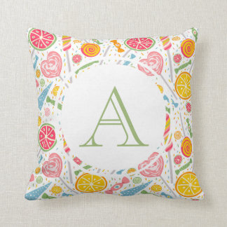 Monogram Sweet Tooth Pillow