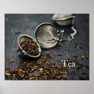 Monogram Tea Poster