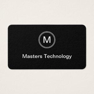 Monogram Technology Business Card