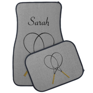 Monogram Tennis Gray  Car and Truck Mats Car Carpet