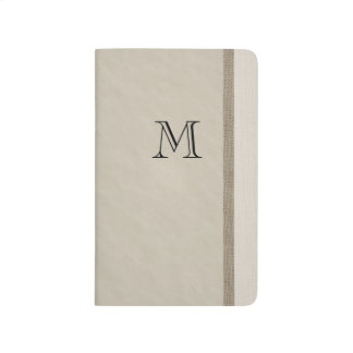 Monogram To Do List Journal