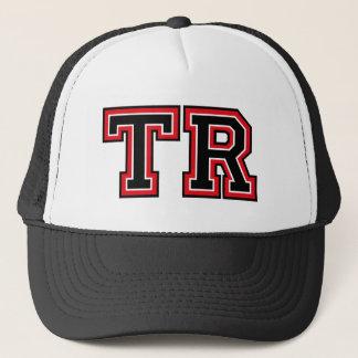 Monogram 'TR' initials Trucker Hat