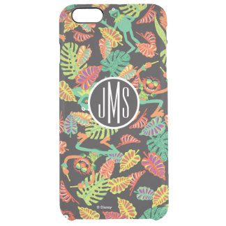 Monogram Tropical Kermit & Animal Pattern 2 Clear iPhone 6 Plus Case