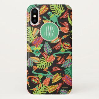 Monogram Tropical Kermit & Animal Pattern iPhone X Case