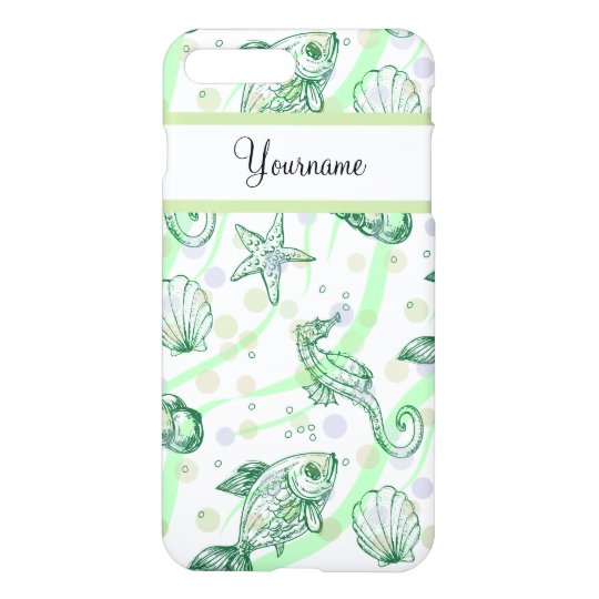 Monogram Tropical Pattern iPhone 7 Plus Case