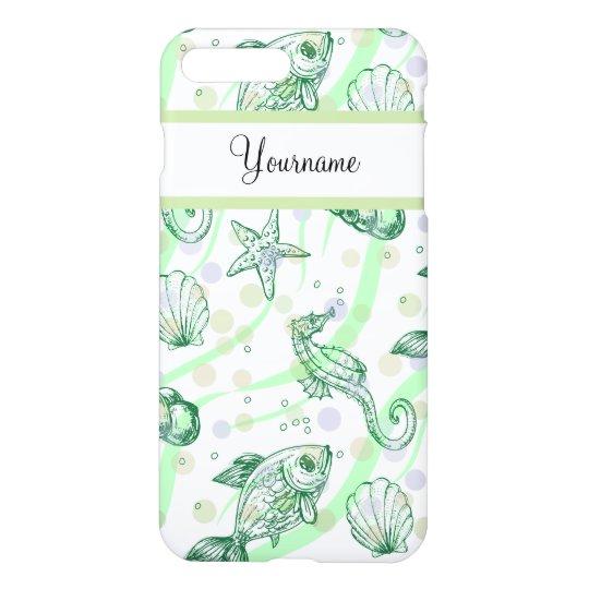 Monogram Tropical Pattern iPhone 8 Plus/7 Plus Case
