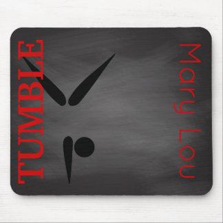 Monogram Tumbler | Gymnast Chalkboard Gymnastics Mouse Pad