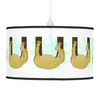 Monogram U Cute Pony Personalized Ceiling Lamps