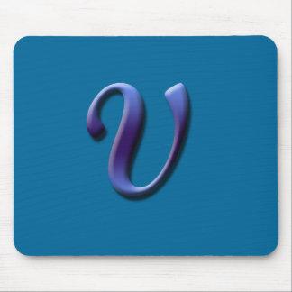 Monogram V Mousepad