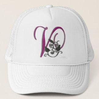 Monogram V Trucker Hat