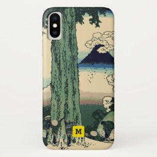 Monogram. Vintage Japanese. Hokusai Painting. Case-Mate iPhone Case