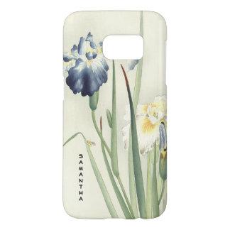 Monogram Vintage Japanese Iris Galaxy S7 Case