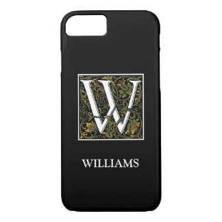 Monogram W iPhone X/8/7 Barely There Case