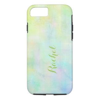 Monogram watercolor iPhone 7 case