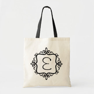 Monogram Wedding Favor Bag