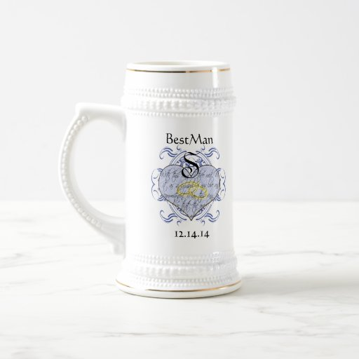 Monogram Wedding Invitations & Gifts Coffee Mug