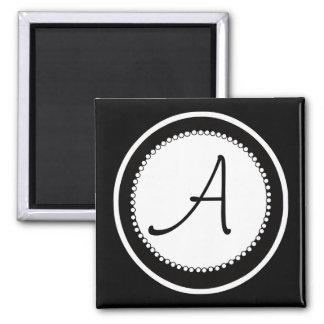 Monogram Wedding Magnets