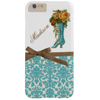 Monogram with Victorian Boot iPhone 6/6s Plus Case